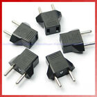 5 pcs US Europe AC Wall Socket Plug US to EU Power Converter Adapter