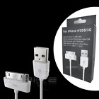 USB Data Sync Charge Cable Apple iPhone 3G 3GS 4 iPod