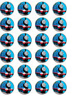 24 x THOMAS THE TANK ENGINE EDIBLE RICE PAPER CAKE TOPPERS