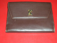 PALOMA PICASSO DARK BROWN LEATHER WALLET , MADE IN ITALY  X