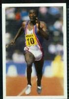 Scarce Trade Card of Linford Christie, Athletics 1986
