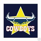 NRL Cowboys Face Washers Set of 2 - Official Merchandise