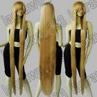 60 in. Extra Long 150cm Gold Blonde Straight Cosplay Wigs Free shipping 124