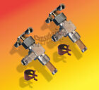 """2, Gas Fuel Line Cut,Shut Off-Valve & Clamps Pipe Thread:1/8"""" With Screen"""