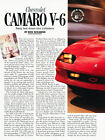 1993 Chevrolet Camaro V6 - Road Test - Classic Article A27-B