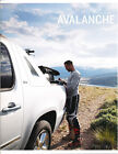 2012 Chevrolet Avalanche Truck Original Sales Brochure