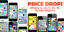iPhone 4 Cracked Screen Repair Service AT&T Black or White