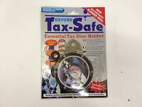 Oxford Tax Safe essential tax disc holder in carbon look  only £4.99 free post