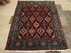 EXCLUSIVE FLOWRAL HAND KNOTTED RUG WOOL SILK CARPET 6x4