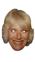 Camilla Card Mask Duchess of Cornwall & Rothesa Royal Family Diamond Jubilee