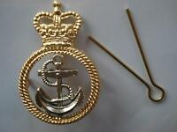 Royal Navy Petty Officer Metal Beret Badge, Cap, RN, Army, Military, Hat, Anchor
