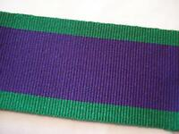 GSM 1962 Medal Ribbon, Full Size, Army, Military, General Service, 1 metre