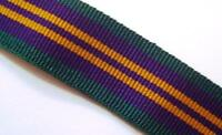 ACSM 2011 Medal Ribbon, Full Size, Accumulated Campaign Service, Army, 10 metres