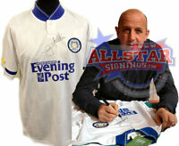 GARY McALLISTER SIGNED LEEDS UNITED 1992 LEAGUE CHAMPIONS SHIRT SEE PROOF