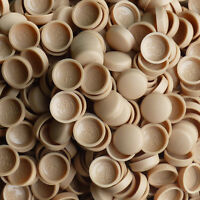 DRIFTWOOD BROWN,TWO PIECE DOME SCREW CAP COVERS SNAP CAPS PRO-DEC FIXINGS