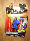 MOC Hasbro G.I. JOE RETALIATION Movie COBRA COMMANDER Action Figure Blue Version