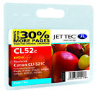 Compatible Jettec CLI-521C Cyan Ink Cartridge for Canon Pixma Printers