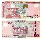 NAMIBIA - NEW ISSUE 100$ DOLLARS UNC BANKNOTE 2012 YEAR ORYX