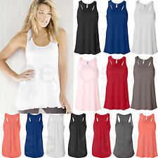 Bella Ladies Flowy Racerback Tank Top - 8800 S-2XL Sizes