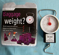 Baggage portable Travel luggage scale with measure tape
