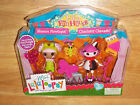 Mini Lalaloopsy SILLY FUNHOUSE Dolls 2-Pack BLOSSOM FLOWERPOT/CHARLOTTE CHARADES