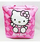 NWT Hello Kitty Large Diaper Tote Bag Pink Plaid Sanrio Licensed Newest Style