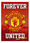 Manchester United Forever United Wall Poster New