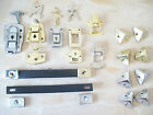 BRASS SILVER NICKEL CHEST TOOL TRUNK BOX CORNERS TOGGLE CATCHES SUITCASE HANDLES