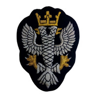 Mercian Regiment Wire Embroidered Bullion Blazer Badge - British Army