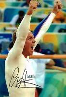 Sir Chris Hoy SIGNED Autograph 12x8 Photo AFTAL COA London Olympic Gold Medalist