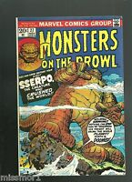 Monsters on the Prowl comic 27 VF Bronze Age 1970's Horror