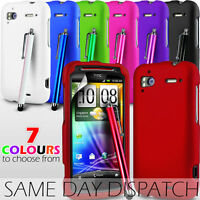 HYBRID CASE SKIN COVER ,STYLUS PEN & SCREEN GUARD FOR HTC SENSATION XE