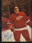 Lot of 2 Perry Miller Signed Autograph 3x5 Photo Detroit Red Wings