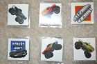 Lot of 12 Monster Jam Truck temporary children's tattoos party favor goody bags