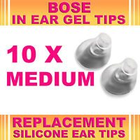 10x Replacement Medium Ear Gel Tip for Bose Triport Earphone Earbud In-Ear Canal