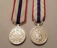 Queens Silver Jubilee Miniature Medal, E11R, Army, Ribbon, New, Mini, Military