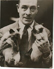 """Paul's Photo """"Richard Vyner, the English Author…"""" ca. 1940s STAMPED"""