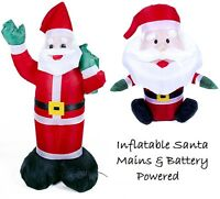 Inflatable Blow Up Santa Father Christmas Decoration For Indoor and Outdoor Use