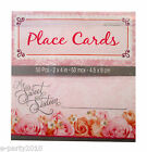 (50) MY SWEET SIXTEEN DECORATED PLACECARDS ~ Birthday PARTY Supplies Seat Cards