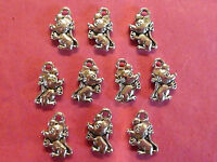 Tibetan Silver Mouse/Mice Charms - 10 per pack - Animal themes