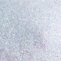 100g Pack/bag of Iridescent White Fine High Quality Glitter 4 Craft Or Nail Art
