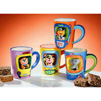 Animal Friends Mugs Available in 4 Assorted Colour With Attractive Design