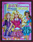 BARBIE PRINCESS CHARM SCHOOL - Awesome COLOURING IN BOOK Colour in Color BARBIES