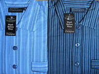 MENS CHAMPION BRUSHED COTTON NIGHTSHIRTS SIZES MED-L-XL-XXL-XXXL