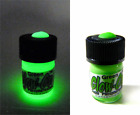 Glow-On Super Phosphorescent Green color gun sights paint, 2.3 ml small vial,