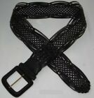 (B215/6) fashionable Belt/Woven Plaited PU Leather for ladies