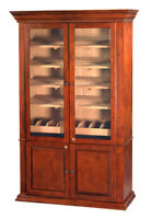 Cigar Humidor Commercial Size Display Case 5000 HYDRA-LG Humidifier Included