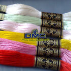 20 SKEINS NEW DMC COTTON FLOSS / CROSS STITCH THREADS - Pick Up Your Colours