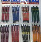NCAA College Click Pens 5-Pack - Pick Team (Black Ink)
