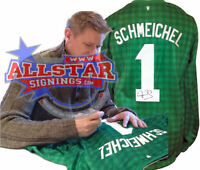 PETER SCHMEICHEL SIGNED MANCHESTER UNITED GOALKEEPERS SHIRT ALLSTARS EXCLUSIVE